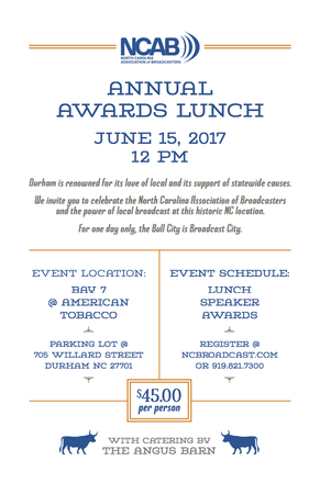 Ncab 2017 Awards Lunch Invitation 5.5x8.5 Lo1